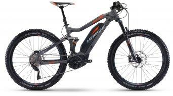 Haibike SDURO FullSeven 8.0 27.5 MTB E-Bike Komplettrad titan/silber/orange Yamaha PW-X-Antrieb Mod. 2017