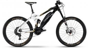 Haibike SDURO NDURO 8.0 27.5 MTB E-Bike Komplettrad schwarz/weiß/bronze matt Yamaha PW-X-Antrieb Mod. 2017