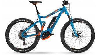Haibike XDURO AllMtn 6.0 27.5 MTB E-Bike Komplettrad blau/orange/weiß Bosch Performance CX-Antrieb Mod. 2017