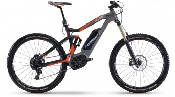 Hai bike XDURO NDURO 8.0 27.5 MTB E- bike bike black/titanium/orange matt Bosch Performance CX-Antrieb 2017