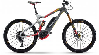 Hai bike XDURO NDURO 9.0 27.5 MTB E- bike bike silver/red/yellow/black matt Bosch Performance CX-Antrieb 2017