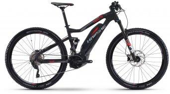 Haibike SDURO FullNine 7.0 29 MTB E-Bike bici completa negro/rojo/titan color apagado Yamaha PW-X-tracción Mod. 2017