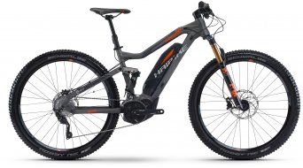 Haibike SDURO FullNine 8.0 29 MTB E-Bike bici completa titan/color plata/naranja Yamaha PW-X-tracción Mod. 2017
