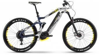 """Haibike XDURO AllMtn 7.0 500Wh 27.5"""" MTB(山地) E-Bike 整车 型号 银色/蓝色/黄色 matt 款型 2018"""