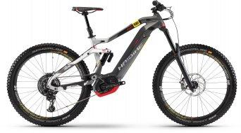 """Haibike XDURO Nduro 10.0 500Wh 27.5"""" MTB(山地) E-Bike 整车 型号 L 银色/黄色/黑色 matt 款型 2018"""
