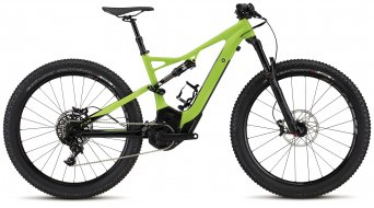 Specialized Turbo Levo FSR Comp 6Fattie 650B+ / 27.5+ MTB E-Bike Komplettbike monster green/black Mod. 2017 - TESTBIKE