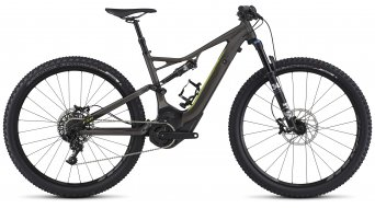 Specialized Turbo Levo FSR ST Comp 29 MTB E-Bike Komplettbike charcoal/hyper green Mod. 2017 - TESTBIKE