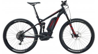 Trek Powerfly+ FS 9 650B / 27.5 MTB E-Bike Komplettbike Gr. 44.5cm (17.5) matte trek black/gloss viper red Mod. 2016 - TESTBIKE