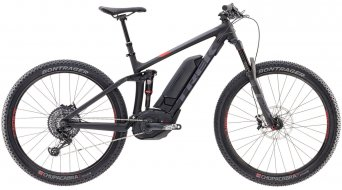 Trek Powerfly 9 FS+ 650B / 27.5 MTB E-Bike Komplettrad matte trek black/viper red Mod. 2017