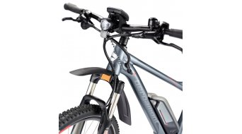 Bergamont E-Line Revox C 7.0 400 EQ 29 E-Bike MTB Komplettbike Herren-Rad Gr. 42cm slate grey/anthracite/red Mod. 2016