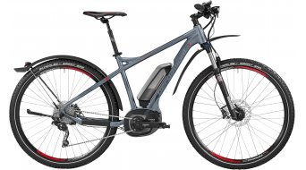Bergamont E-Line Revox C 7.0 400 EQ 29 E-Bike MTB bici completa Caballeros-rueda slate grey/anthracite/rojo Mod. 2016