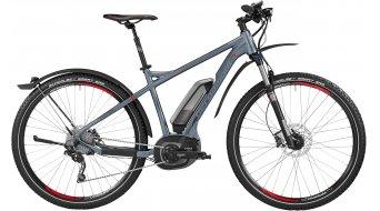 Bergamont E-Line Revox C 7.0 500 EQ 29 E-Bike MTB Komplettbike Herren-Rad Gr. 42cm slate grey/anthracite/red Mod. 2016