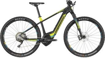 """Bergamont E-Revox Ultra 29"""" MTB(山地) E-Bike 整车 型号 black/neon yellow/cyan (matt) 款型 2018"""