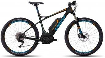 Ghost Teru 9 LC 650B/27,5 E-Bike bici completa tamaño L negro/azul/naranja Mod. 2016