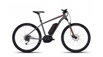 "Ghost Teru B 3.7 Alu U 650B/27,5"" E-Bike 整车 型号 michrochip gray/black/riot red 款型 17"