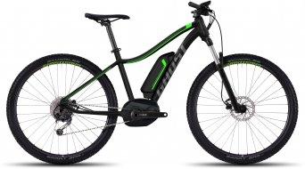 Ghost Teru 5 AL 650B/27.5 E-Bike bici completa da donna . black/titanio gray/neon green mod. 2017