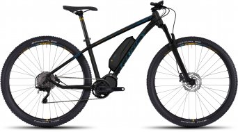 Ghost Lanao 4 AL 29 E-Bike Komplettrad Damen-Rad black/arctic blue/amber yellow Mod. 2017