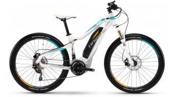 Haibike SDURO Hardlife RC 27.5 MTB E-Bike Damenrad Gr. 35cm weiß/cyan/orange matt Yamaha-Motor Mod. 2016