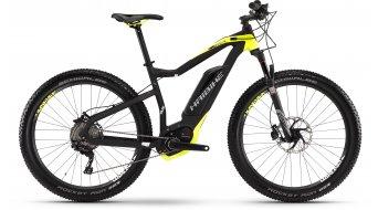 Haibike XDURO HardSeven Plus RX 27.5+ MTB E-Bike UD schwarz/lime matt Bosch Performance CX-Antrieb Mod. 2016