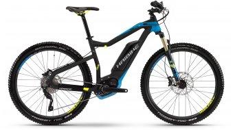 Haibike XDURO HardSeven RX 27.5 MTB E-Bike Gr. 40cm schwarz/cyan/lime matt Bosch Performance CX-Antrieb Mod. 2016