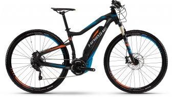 Haibike SDURO HardNine RX 29 MTB E-Bike schwarz/blau/rot matt Yamaha-Antrieb Mod. 2016