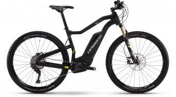 Haibike XDURO HardNine carbono Pro 29 MTB E-Bike tamaño 45cm UD carbono/lime color apagado Bosch Performance CX-tracción Mod. 2016