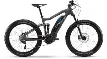 Haibike SDURO Full FatSix 26 Fatbike E-Bike schwarz/cyan matt Yamaha-Antrieb Mod. 2016