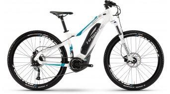 Haibike SDURO HardLife 4.0 27.5 MTB E-Bike da donna bici completa . bianco/titanio/cyan Yamaha PW- trasmissione mod. 2017