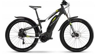 "Haibike SDURO HardLife Street 4.5 27.5"" VTT E- vélo femmes vélo taille anthracite/blanc/lime matt Yamaha PW-Antrieb Mod. 2017"