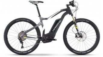 Hai bike XDURO HardSeven carbon 9.0 27.5 MTB E- bike bike carbon/white/lime matt Bosch Performance CX-Antrieb 2017