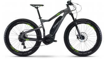 Hai bike SDURO FatSix 6.0 26 Fat bike E- bike bike titanium/black/green matt Yamaha PW-Antrieb 2017