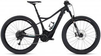 Specialized Turbo Levo HT Comp 6Fattie 650B+ / 27.5+ MTB E-Bike Komplettbike Damen-Rad Gr. L satin black/turquoise/light turquoise Mod. 2016