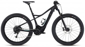 Specialized Turbo Levo WMN HT Comp 6Fattie 650B+ / 27.5+ MTB E-Bike Komplettbike Damen-Rad Gr. M black/light turquoise Mod. 2017 - TESTBIKE