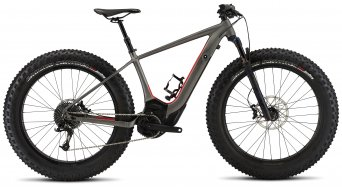Specialized Turbo Levo HT Comp Fat 26 Fatbike E-Bike Komplettbike charcoal/rocket red Mod. 2017