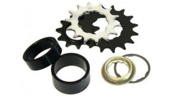 Atomlab adapter kit Single Speed 2x Spacer + 13z+14z+16z sprocket + lockring
