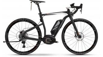 Haibike XDURO Race S RX 28 E-Bike S-Pedelec anthrazit/weiß/rot Bosch Performance 45km/h-Antrieb Mod. 2016