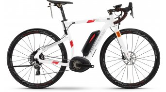 Hai bike XDURO Race S 6.0 28 road bike S-Pedelec bike size 62cm white/red Bosch Performance Speed-Antrieb 2017