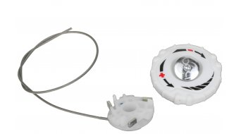 Specialized BOA S1-M Replacement Kit white left upper dial (spool, screw, lace 24cm)