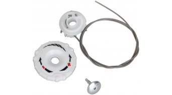 Specialized BOA S1-M Replacement Kit white right lower dial (spool, screw, lace 34cm)