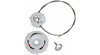 Specialized BOA S1-M Replacement Kit white right upper dial (spool, screw, lace 24cm)