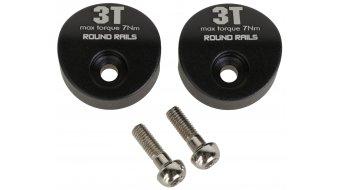 3T Runde Difflock Endkappen zum Umrüsten auf runde Sattelgestelle