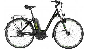 Bergamont E-Line C N330 500 Wave 28 E-Bike Trekking 整车 男女皆宜的-Rad 型号 52厘米 black/green/青柠色/white 款型 2016