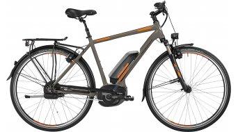 Bergamont E-Line C N380 Harmony 500 Gent 28 E-Bike Trekking 整车 男士-Rad 型号 56厘米 lava grey/橙色/black 款型 2016