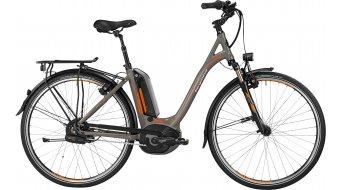 Bergamont E-Line C N380 Harmony 500 Wave 28 E-Bike Trekking 整车 男女皆宜的-Rad 型号 52厘米 lava grey/橙色/black 款型 2016