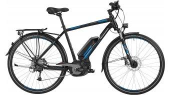 Bergamont E-Line C Deore Active 500 Gent 28 E-Bike Trekking Komplettbike Herren-Rad Gr. 56cm black/blue/grey Mod. 2016