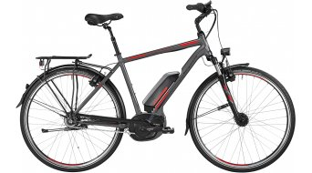 Bergamont E-Line C N8 CB 400 Gent 28 E-Bike Trekking bici completa Caballeros-rueda engine grey/rojo/negro Mod. 2016
