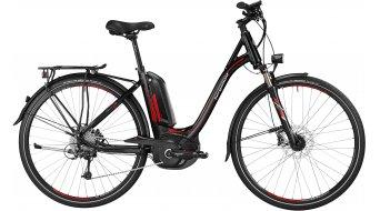 Bergamont E-Line C Deore Performance 500 Wave E-Bike Trekking bici completa Unisex-rueda negro/rojo/grey Mod. 2016