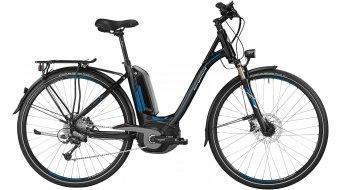 Bergamont E-Line C Deore Active 400 Wave 28 E-Bike Trekking bici completa Unisex-rueda tamaño 48cm negro/azul/grey Mod. 2016