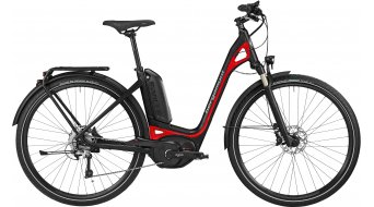 Bergamont E-Ville C XT 400 28 E-Bike Trekking bici completa Unisex-rueda negro/rojo Mod. 2016