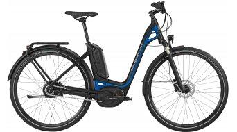 Bergamont E-Ville C N330 500 28 E-Bike Trekking bici completa Unisex-rueda negro/fjord azul Mod. 2016